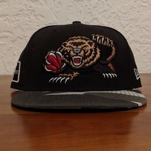 New Era Vancouver Grizzlies Retro Fitted Hat 7 1/2